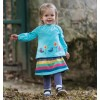 Frugi Winter Rainbow Skirt Leggings