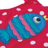 Frugi Spot Fish Applique Little Sally Swimsuit