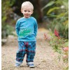 Frugi Little Blue Checked Snugs