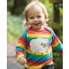 Frugi Rainbow Sheep Bobby Applique Top