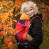 Wompat Pre-School Meh Dai Carrier - Girasol Earthy Rainbow