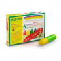 OkoNorm 6 Stubby Beeswax Crayons