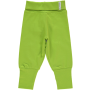 Maxomorra Bright Green Rib Pants