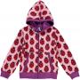 Maxomorra Ladybug Zip Hoody