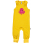 Maxomorra Embroidered Octopus Dungarees