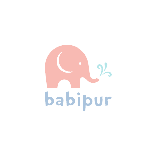 Babipur Elephant Eco Tape - Blue