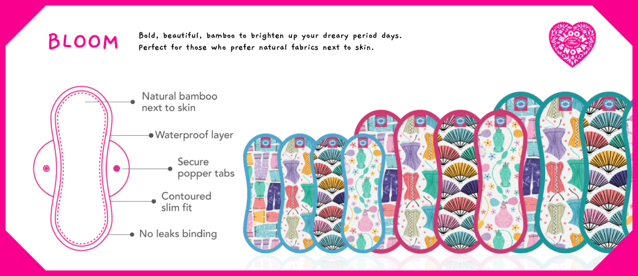 bloom menstrual pads