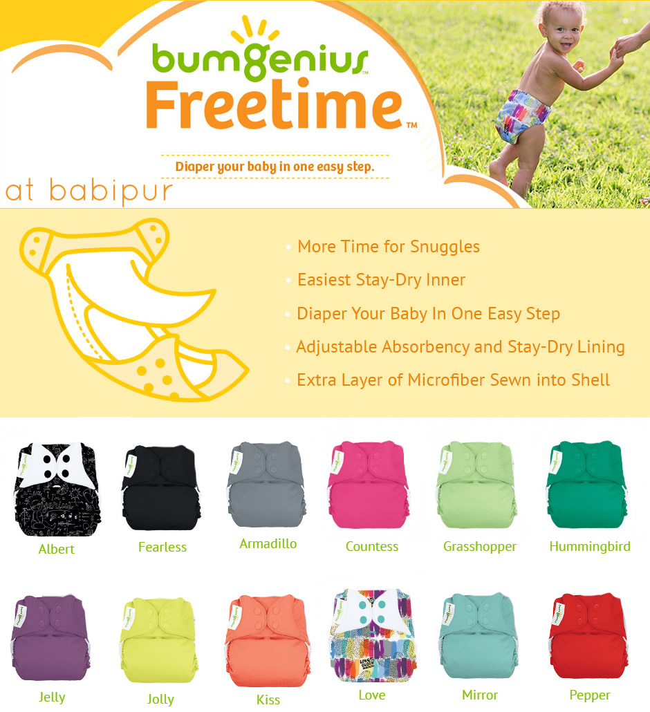 Bumgenius Freetime Colours