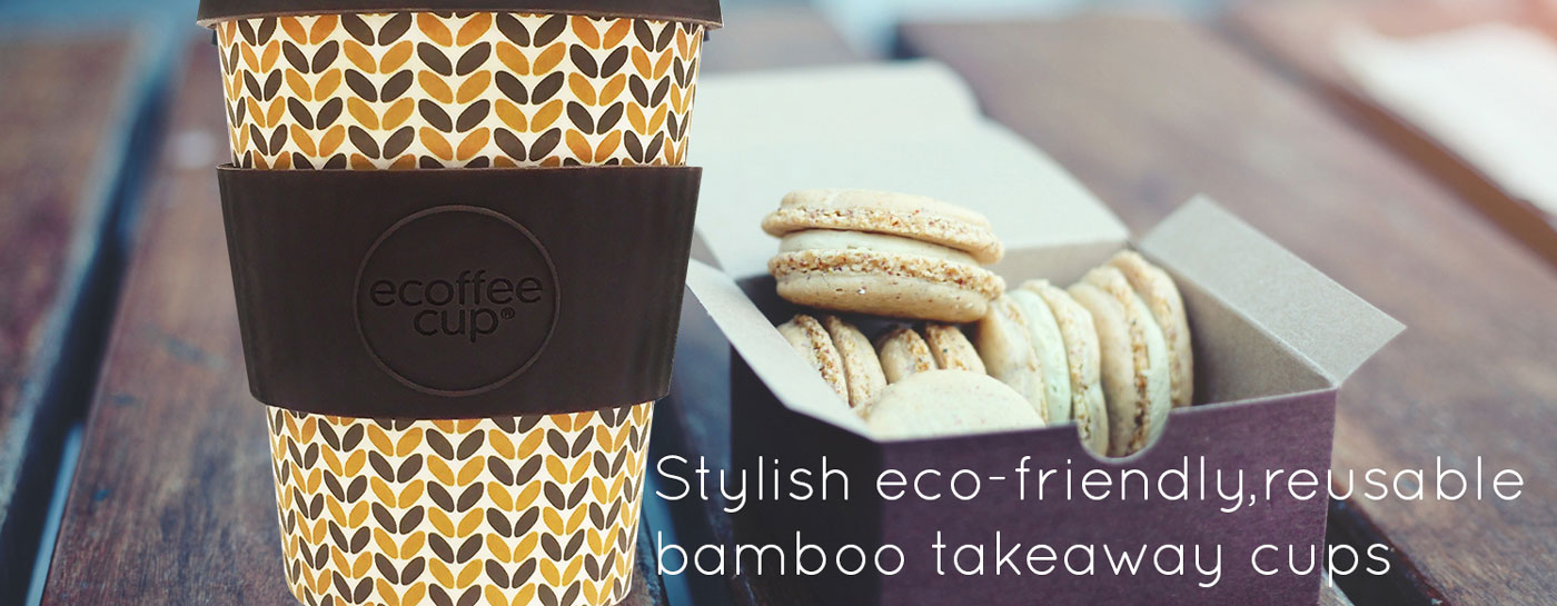 Ecoffee Cup - reusable takeaway coffee cups from Babipur