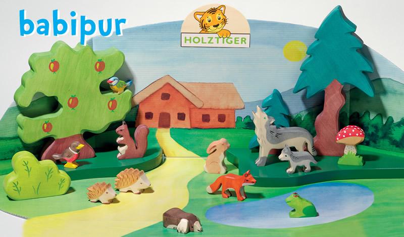 Holztiger Waldorf Animals