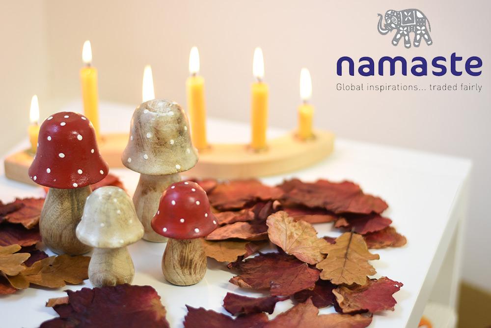 Namaste Fair Trade Toadstool at Babipur