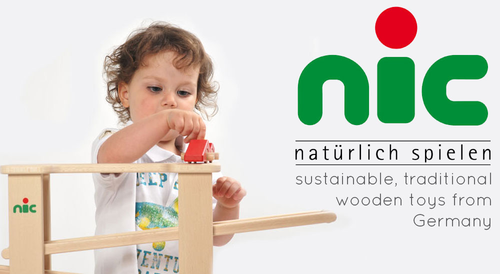 Nic - sustainable wooden toys from Germany at Babipur