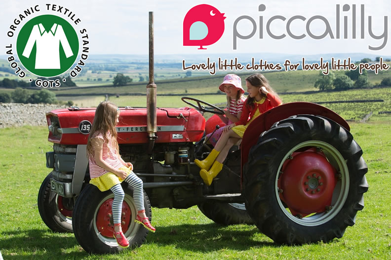 Piccalilly organic kids clothes