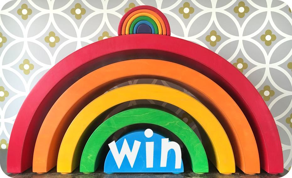 win a rainbow